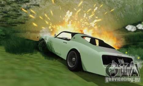 Imponte Phoenix из GTA 5 для GTA San Andreas вид сверху