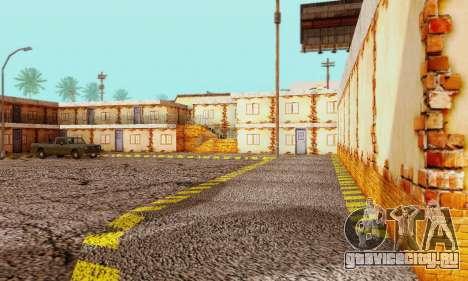 Новая текстура пиццерии и отеля в Иделвуде для GTA San Andreas пятый скриншот