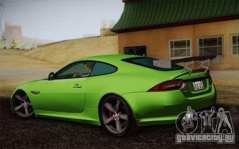 Jaguar XKR-S GT 2013 для GTA San Andreas вид слева