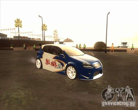 Volkswagen Golf из NFS Most Wanted для GTA San Andreas