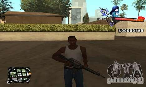 Anime C-Hud для GTA San Andreas