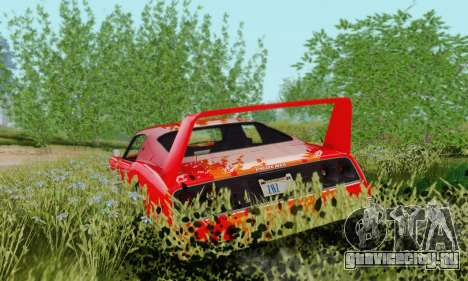 Imponte Phoenix из GTA 5 для GTA San Andreas вид сзади слева