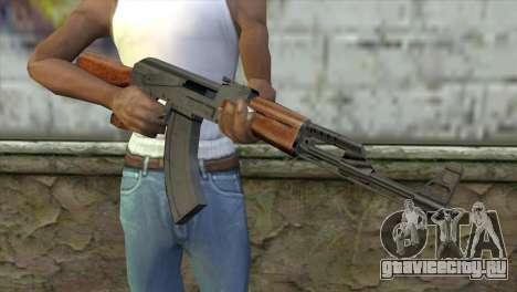 AK-47 Assault Rifle для GTA San Andreas третий скриншот