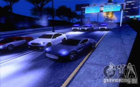 ENBS V4 для GTA San Andreas шестой скриншот