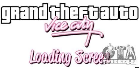 Загрузочные экраны GTA Vice City для GTA 5