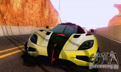 Koenigsegg One 2014 для GTA San Andreas