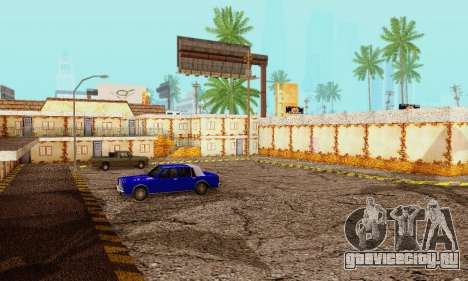 Новая текстура пиццерии и отеля в Иделвуде для GTA San Andreas четвёртый скриншот
