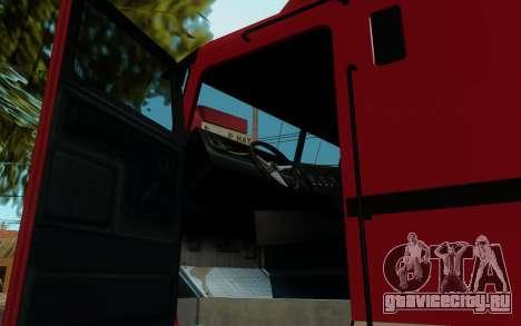 JoBuilt Hauler Fixet из GTA 5 для GTA San Andreas вид сзади слева
