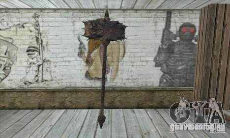 Топор из Skyrim для GTA San Andreas