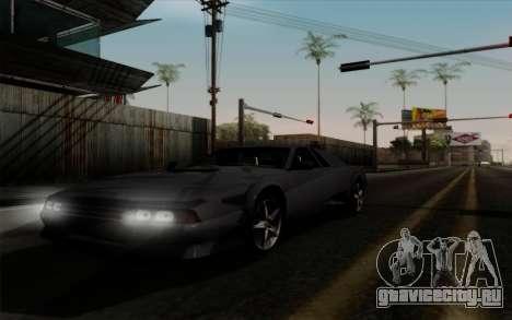 Cheetah v2 для GTA San Andreas вид сзади слева