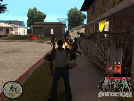 C-HUD by Martin для GTA San Andreas третий скриншот