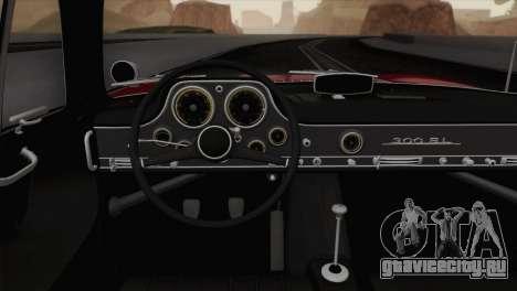 Mercedes-Benz 300SL 1955 для GTA San Andreas вид сзади