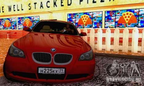 BMW 530xd для GTA San Andreas вид слева