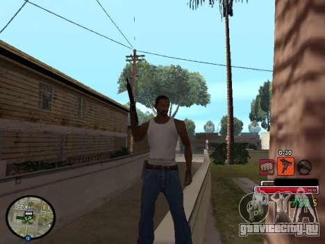 C-HUD by Martin для GTA San Andreas второй скриншот