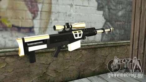 Golden Sniper Rifle для GTA San Andreas второй скриншот