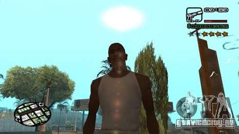 Новый шрифт V.3 для GTA San Andreas для GTA San Andreas третий скриншот