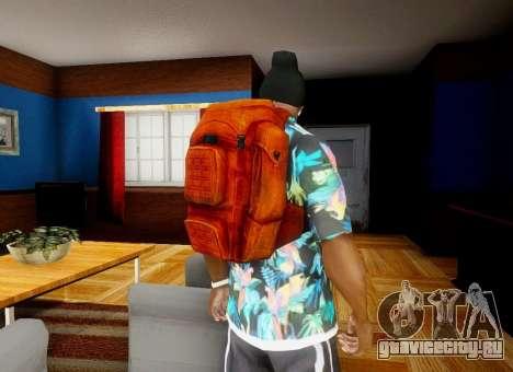 Рюкзак из State of Decay для GTA San Andreas четвёртый скриншот