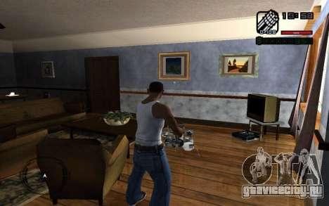 C-HUD by Smoke для GTA San Andreas второй скриншот