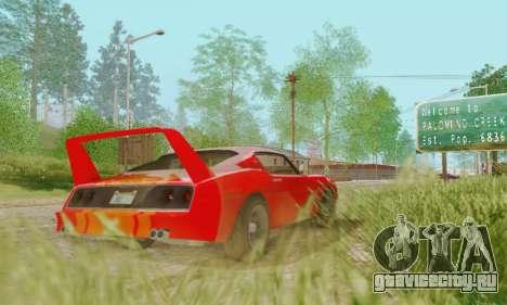 Imponte Phoenix из GTA 5 для GTA San Andreas вид справа