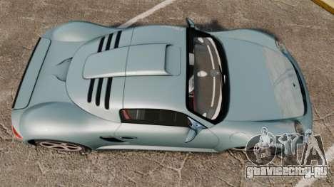 Ruf CTR3 для GTA 4 вид справа