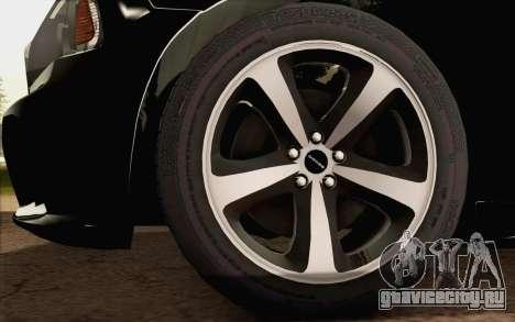 Dodge Charger SRT8 2006 для GTA San Andreas вид сзади слева