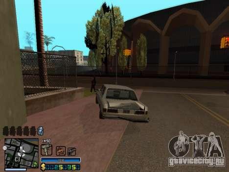 C-HUD By Stafford для GTA San Andreas восьмой скриншот