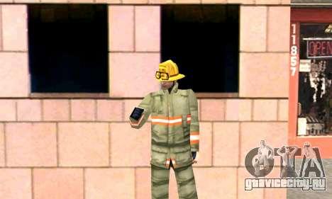 Реалистичная пожарная станция в Лос Сантосе для GTA San Andreas четвёртый скриншот