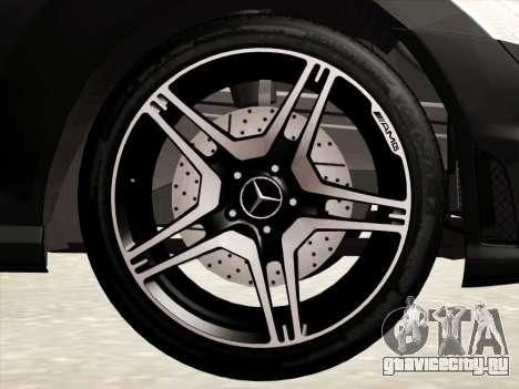 Mercedes-Benz S65 AMG для GTA San Andreas вид снизу