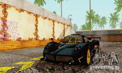 Pagani Zonda Type R Black для GTA San Andreas