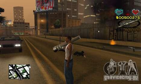 C-HUD New Liberia для GTA San Andreas третий скриншот