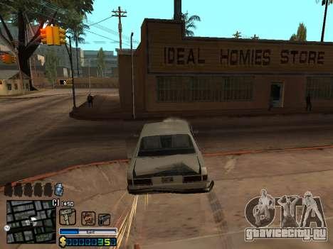 C-HUD By Stafford для GTA San Andreas седьмой скриншот