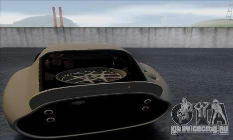 Shelby Cobra Daytona для GTA San Andreas вид сзади