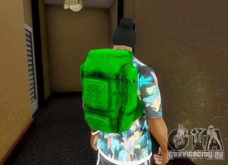 Рюкзак из State of Decay для GTA San Andreas пятый скриншот