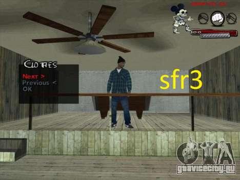 Скины Surenos 13 для GTA San Andreas третий скриншот
