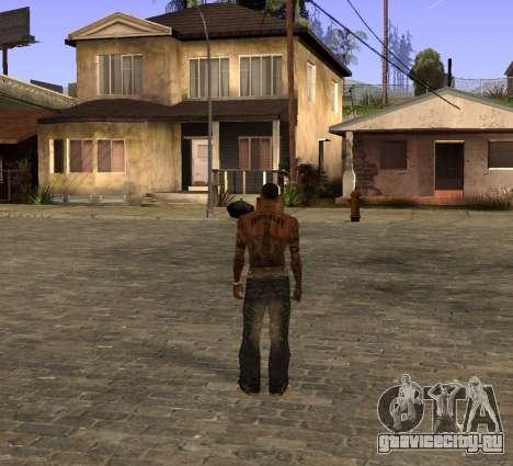 Новые джинсы для CJ для GTA San Andreas второй скриншот