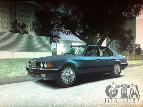 BMW 735iL e32 для GTA 4