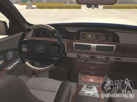 BMW 760Li для GTA San Andreas вид сбоку