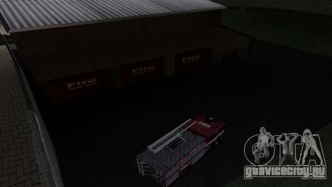 Updated San Fierro Fire Dept для GTA San Andreas третий скриншот