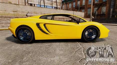 GTA V Pagassi Vacca для GTA 4 вид слева