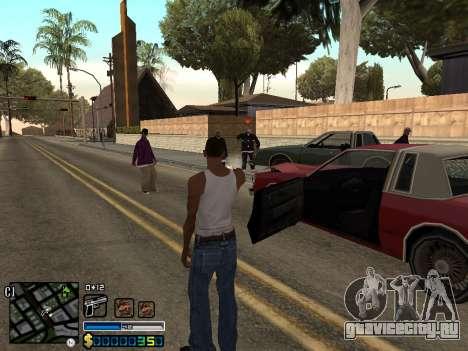 C-HUD By Stafford для GTA San Andreas пятый скриншот
