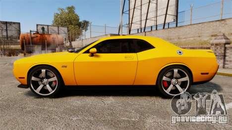 Dodge Challenger SRT8 2012 для GTA 4 вид слева