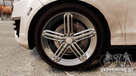 Audi Q7 FCK PLC [ELS] для GTA 4 вид сзади