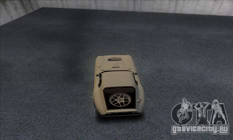 Shelby Cobra Daytona для GTA San Andreas вид справа
