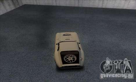 Shelby Cobra Daytona для GTA San Andreas вид справа