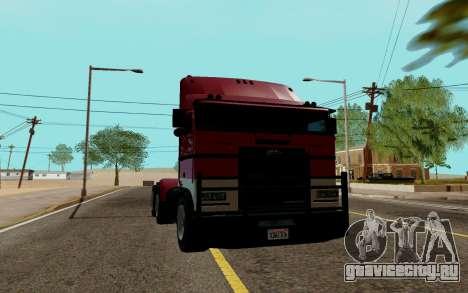 JoBuilt Hauler Fixet из GTA 5 для GTA San Andreas