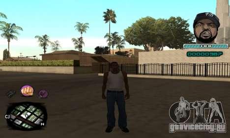 C-HUD Ice Cube для GTA San Andreas