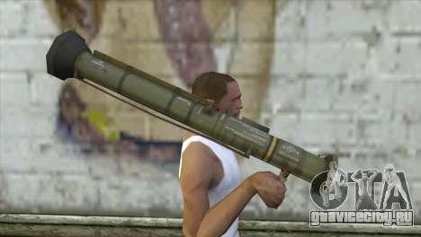 AT4 Rocket Launcher для GTA San Andreas третий скриншот