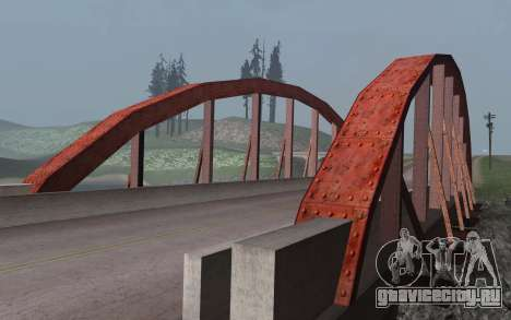 RoSA Project v1.3 Countryside для GTA San Andreas одинадцатый скриншот