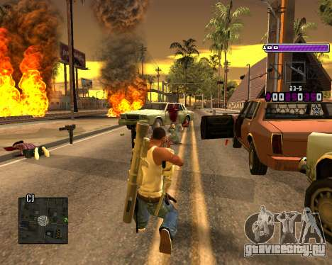 C-HUD Lite v3.0 для GTA San Andreas третий скриншот