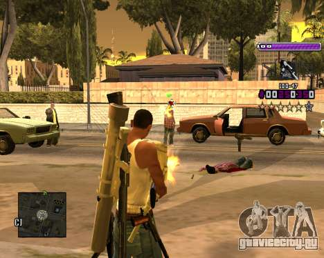 C-HUD Lite v3.0 для GTA San Andreas второй скриншот